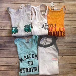 $130 NWT Victoria's Secret tank top shirt bundle